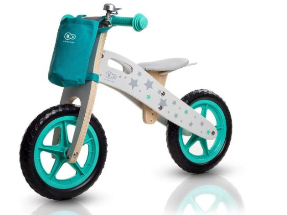 Le modèle Runner des chez Kindercraft en coloris blanc/bleu