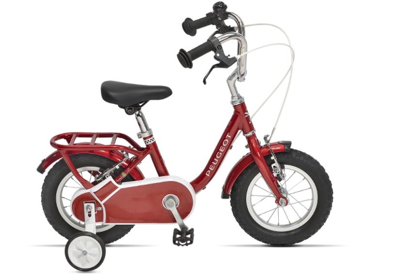 Un vélo du fabricant Peugeot LJ12 en 12 pouces