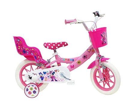 Un vélo à l'effigie de Minnie