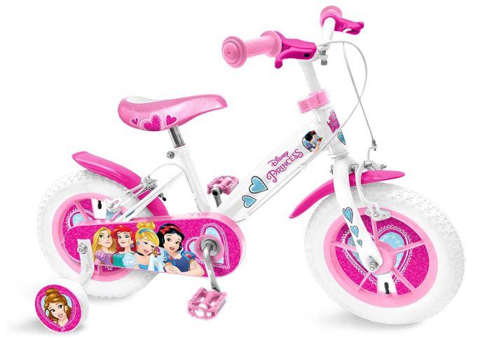 Un vélo 12 pouces avec des princesses