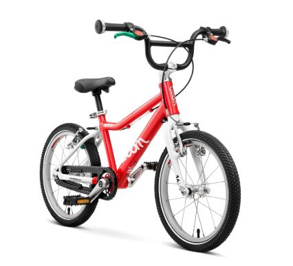 Un des meilleurs vélos enfant en 20 pouces le Woom 3 : seulement 5,3 kg!!