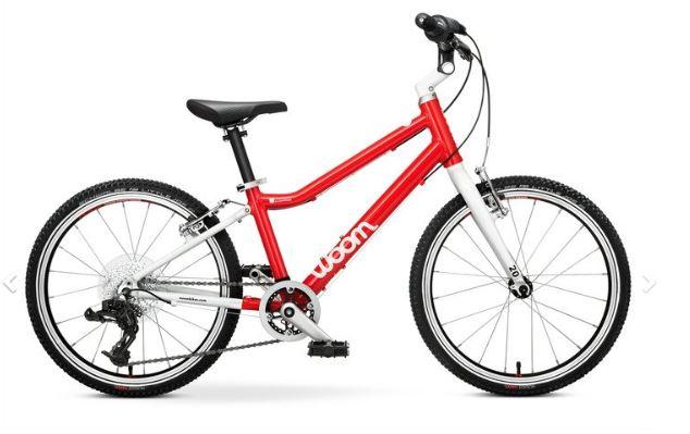 un des meilleurs vélos 20 pouces du marché le Woom 4 , c'est le plus léger.