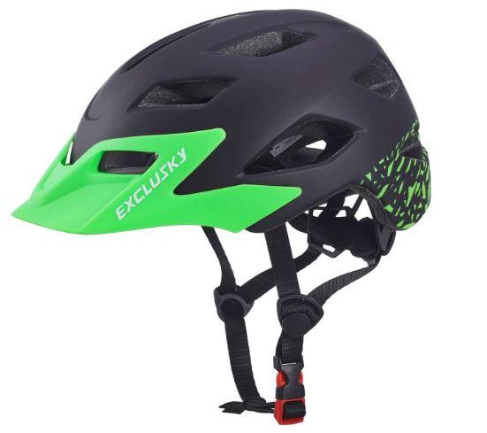 le casque de vélo Exclusky