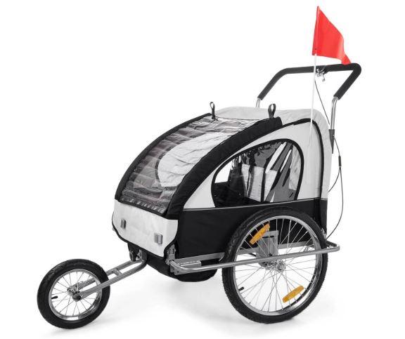 LA remorque à vélo pour enfant Samax 2 en 1