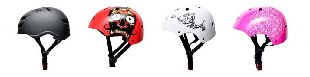 4 modèles de casque vélo enfant SkullCap