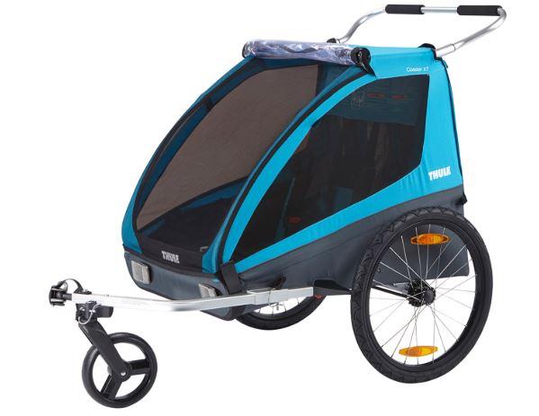 Un des remorque à vélo la plus vendu sur le marché = Thule Coaster XT