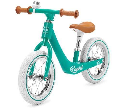 La draisienne Kinderkraft Rapid de couleur verte