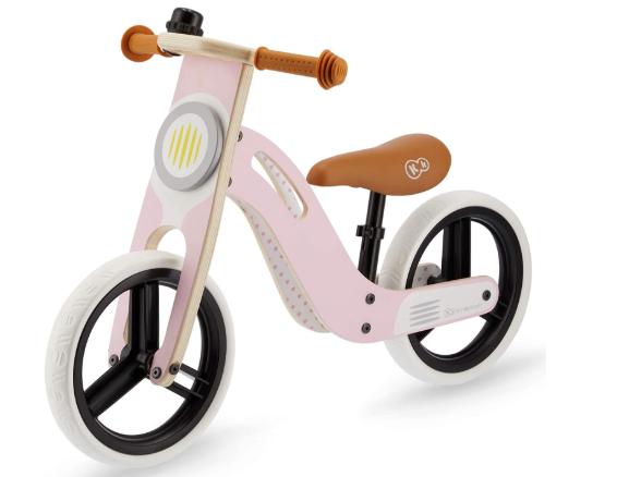 la draisienne Kindercraft UNIQ de couleur rose pour les filles à partir de 2 ans