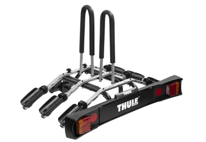 Un porte-vélos à attelage de la marque suédoise Thule